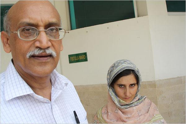 Dr. Shershah Syed with Ashrafi Akbar.