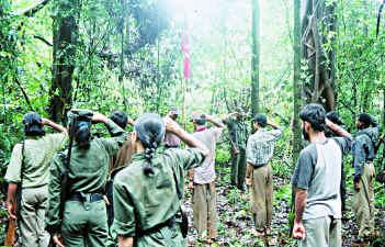 Naxalite base in Karnatka