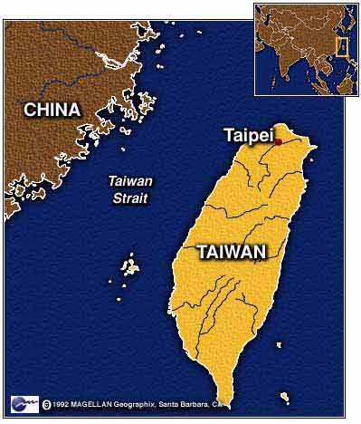 Taiwan and  China
