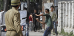 2- Protest in Indian Occupied Kashmir against student killing