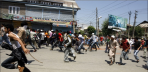 4- Protest in Indian Occupied Kashmir against student killing