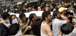 6- Protest in Indian Occupied Kashmir against student killing