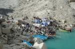 12) Landslide lake in Pakistan