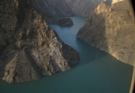 14) Landslide lake in Pakistan