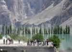 16) Landslide lake in Pakistan