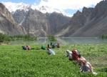 17) Landslide lake in Pakistan