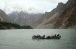 21) Landslide lake in Pakistan