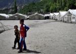 23) Landslide lake in Pakistan