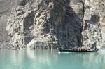 25) Landslide lake in Pakistan