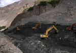 28) Landslide lake in Pakistan