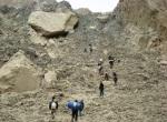 30) Landslide lake in Pakistan