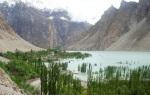 33) Landslide lake in Pakistan